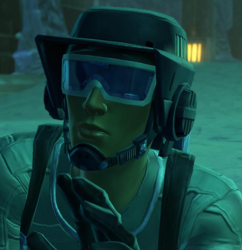 Unidentified Imperial commando engineer