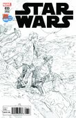 Star Wars 33 SDCC 2017 Black and White
