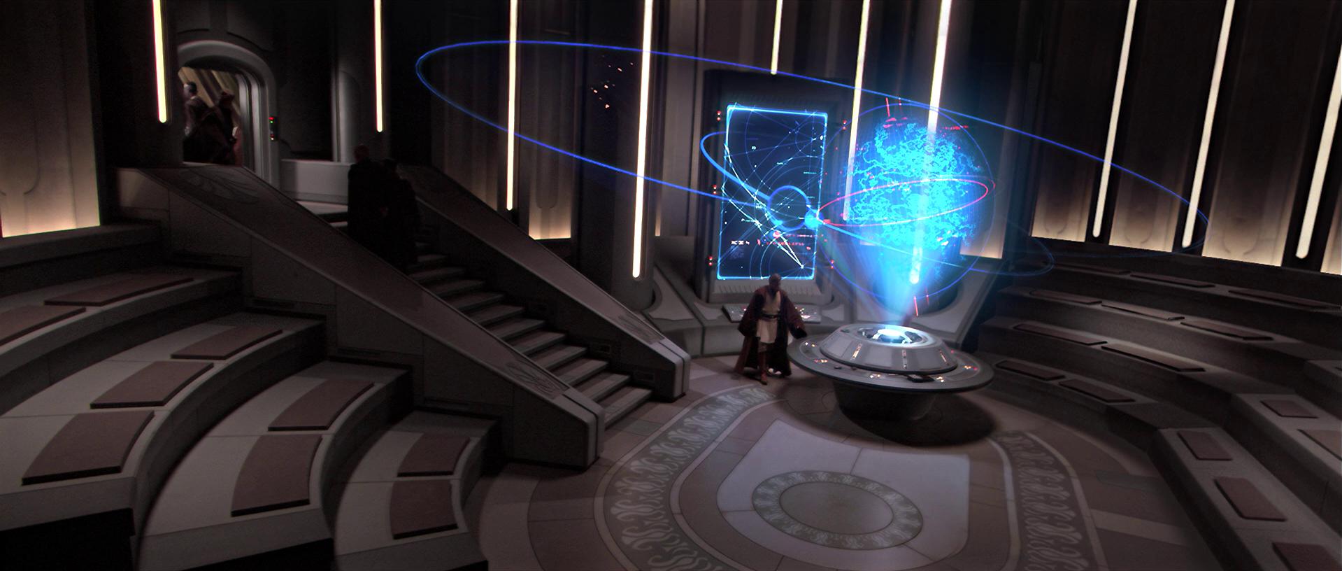 Jedi Temple communication center/Legends