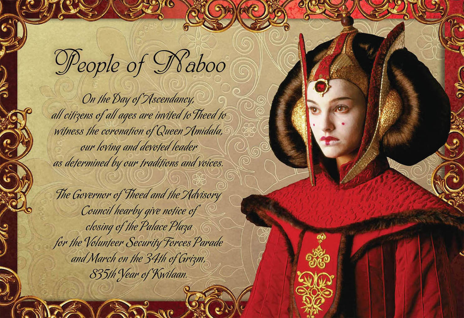 Naboo Coronation