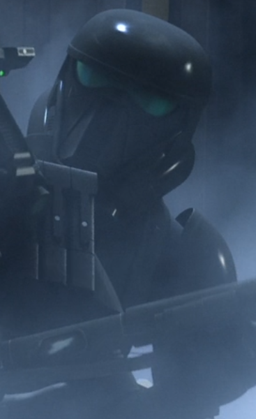 Unidentified death trooper