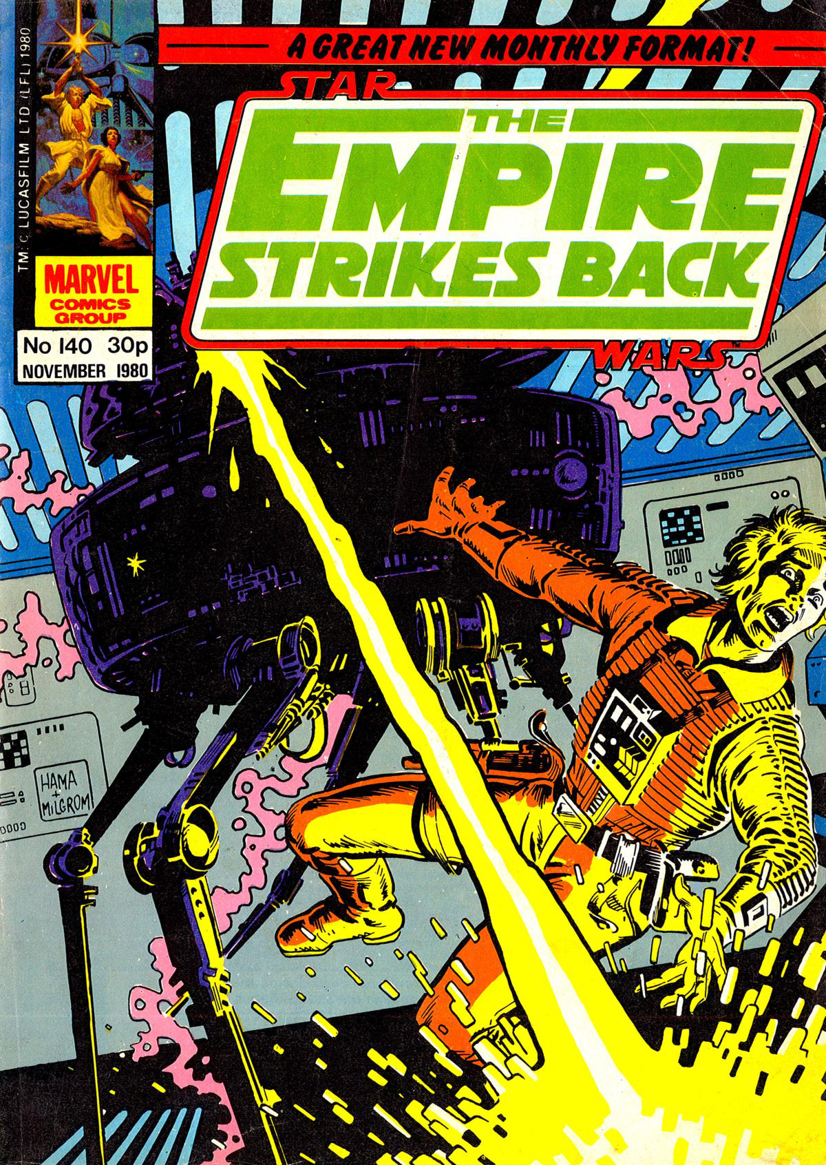 The Empire Strikes Back Monthly 140