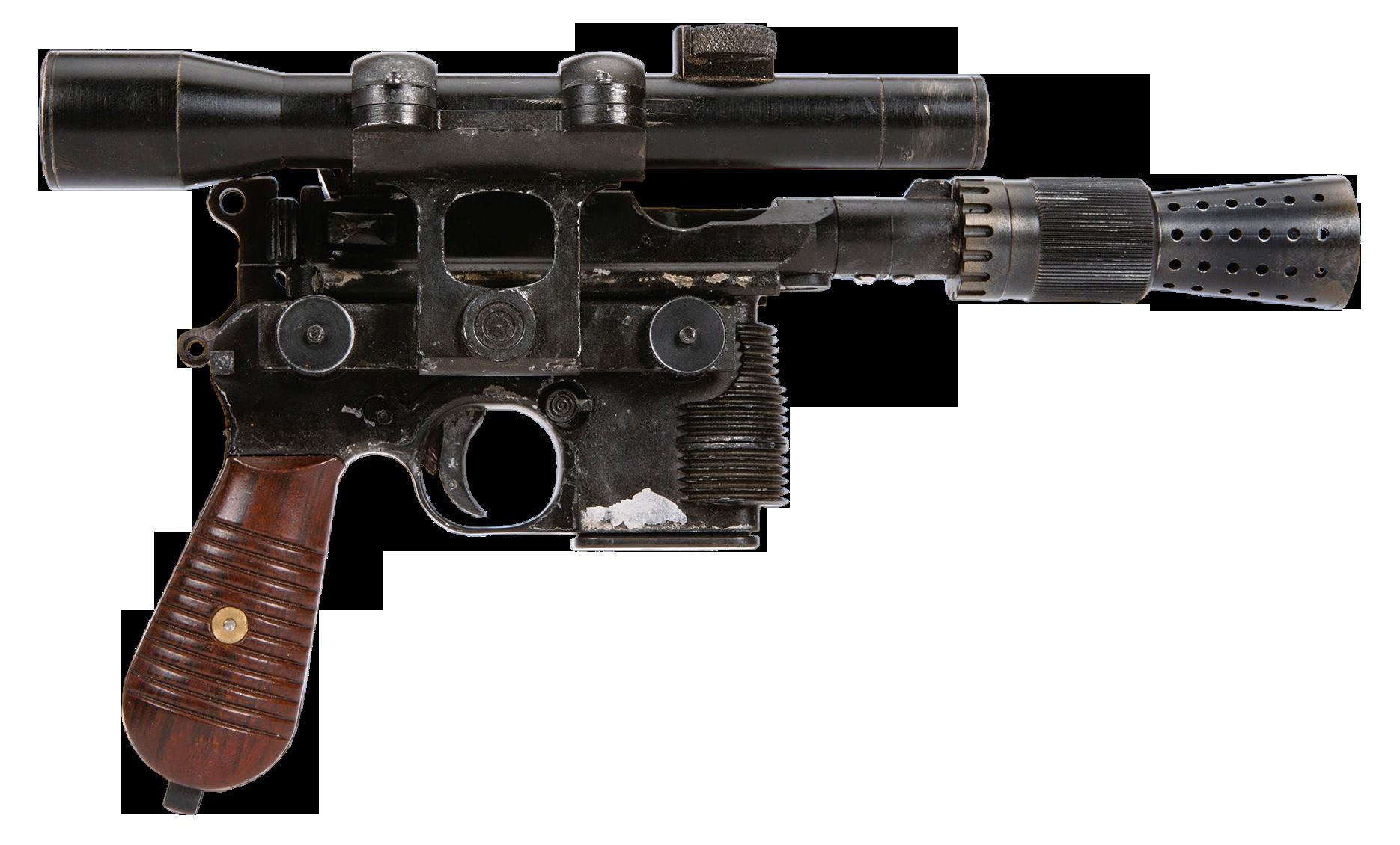 Han's heavy blaster pistol