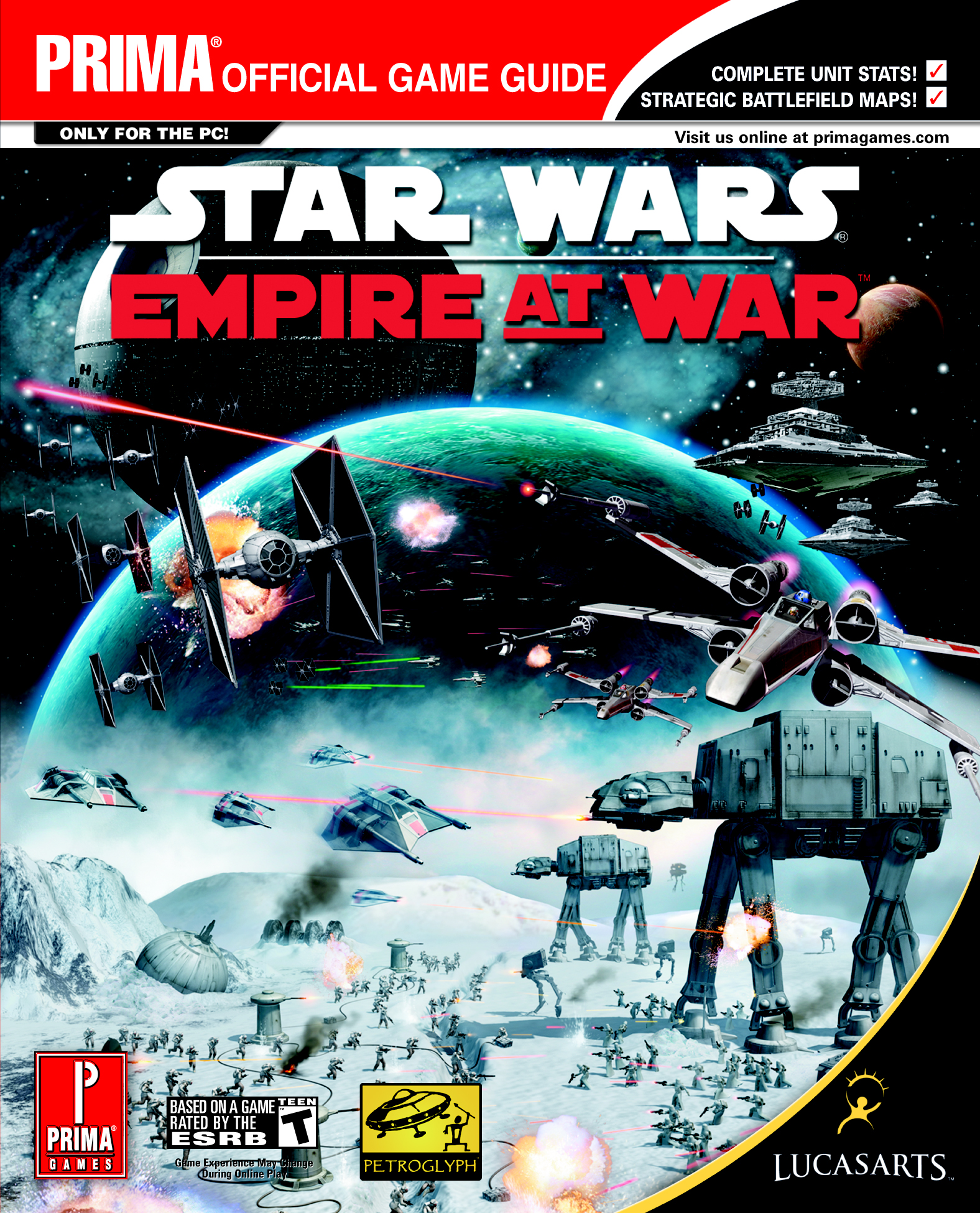 Star Wars: Empire at War: Prima Official Game Guide