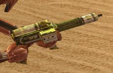 Jurgan Kalta's carbine