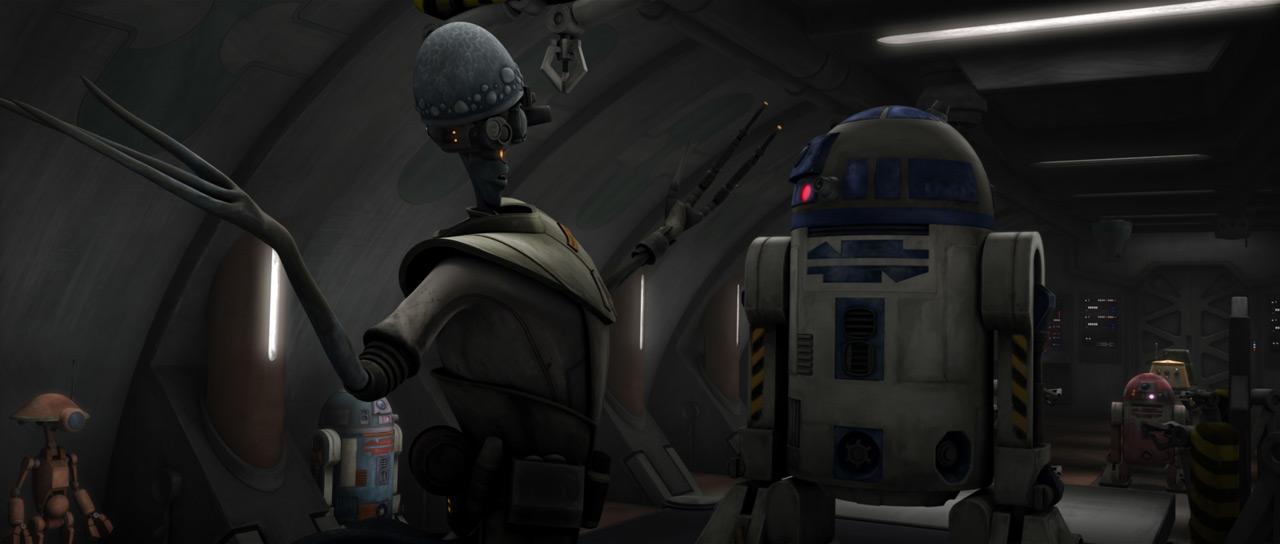 Jedi Temple research and development lab