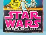 1977 Topps Star Wars Series 3