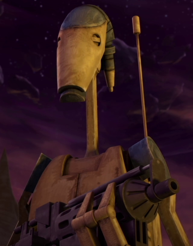 Unidentified B1 battle droid (R2-D2)/Legends
