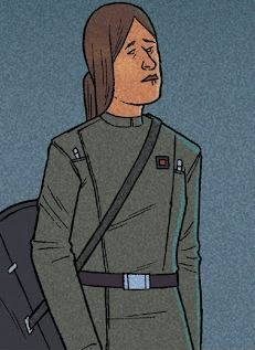 Unidentified female Imperial officer (Irff)
