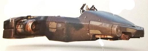 Gian-211 Patrol Speeder