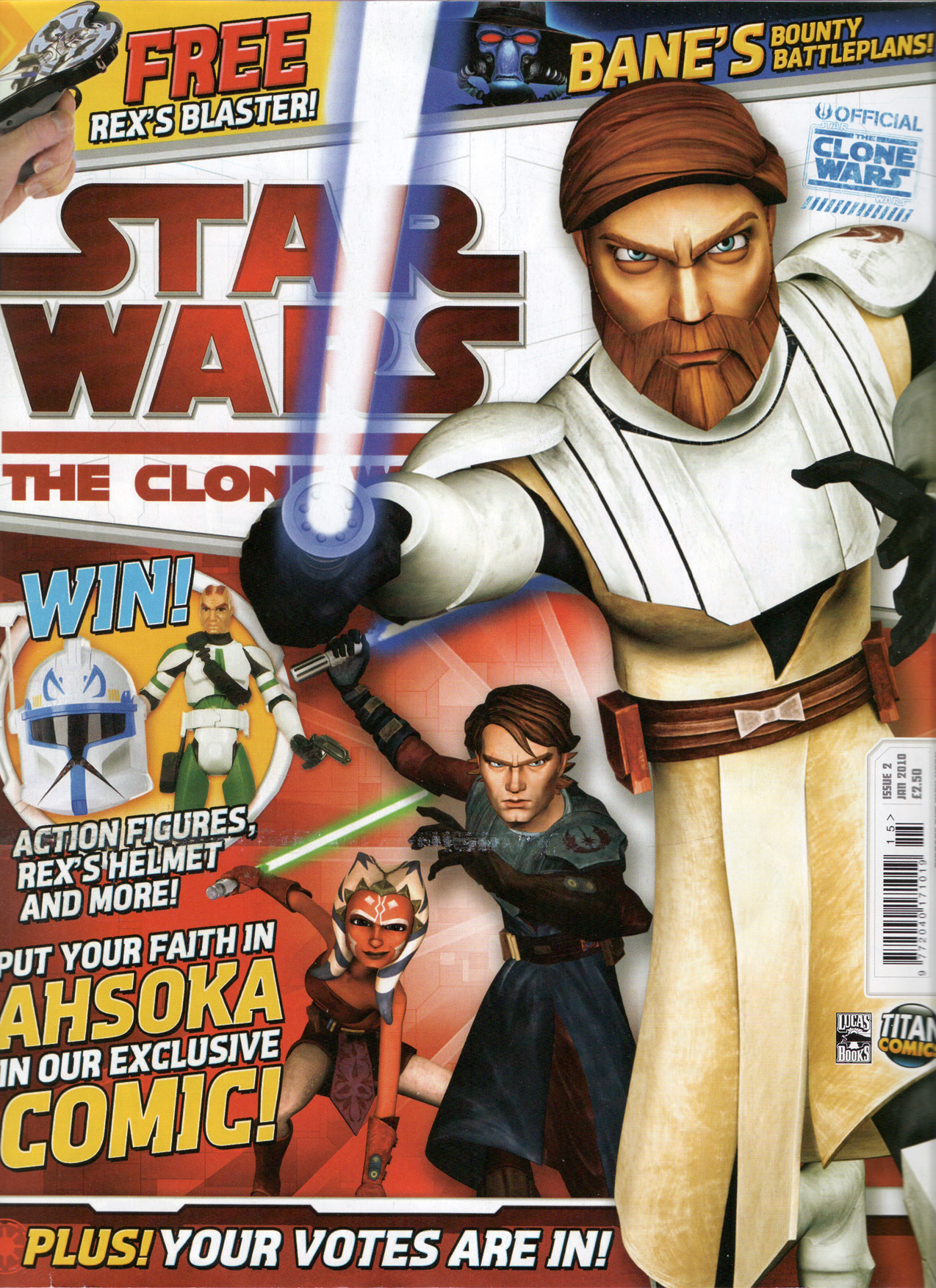 Star Wars: The Clone Wars Comic UK 6.2