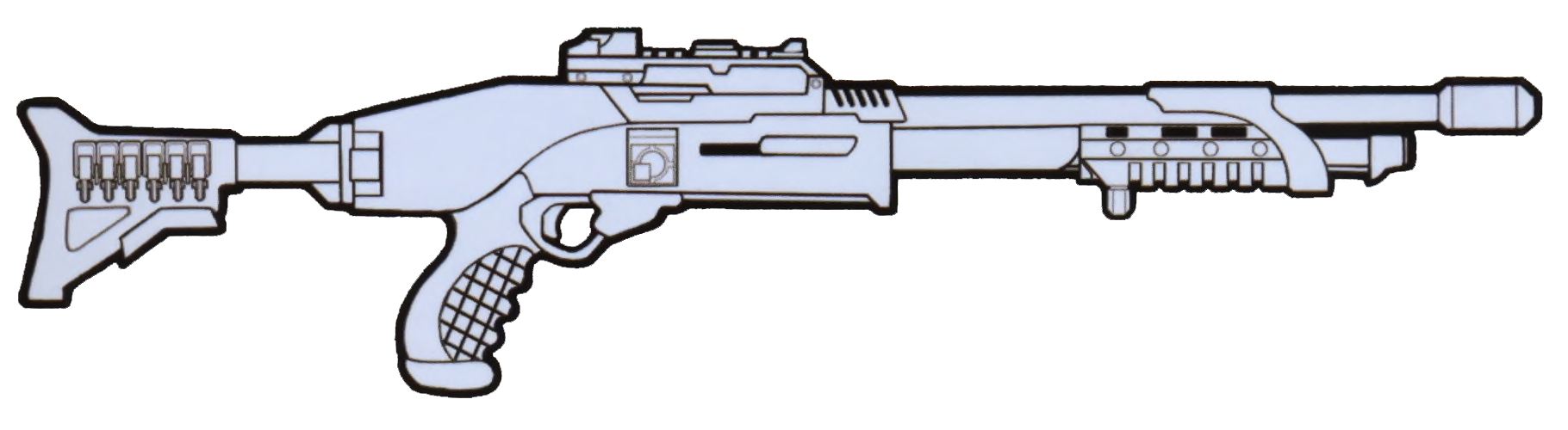 8-gauge scatter gun