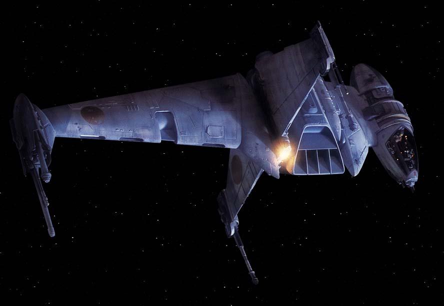 A/SF-01 B-wing starfighter/Legends