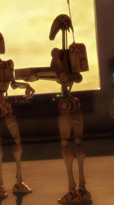 631 model B1 battle droid