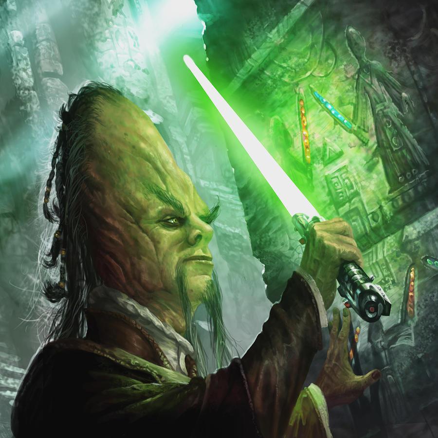Unidentified Cerean Jedi archaeologist