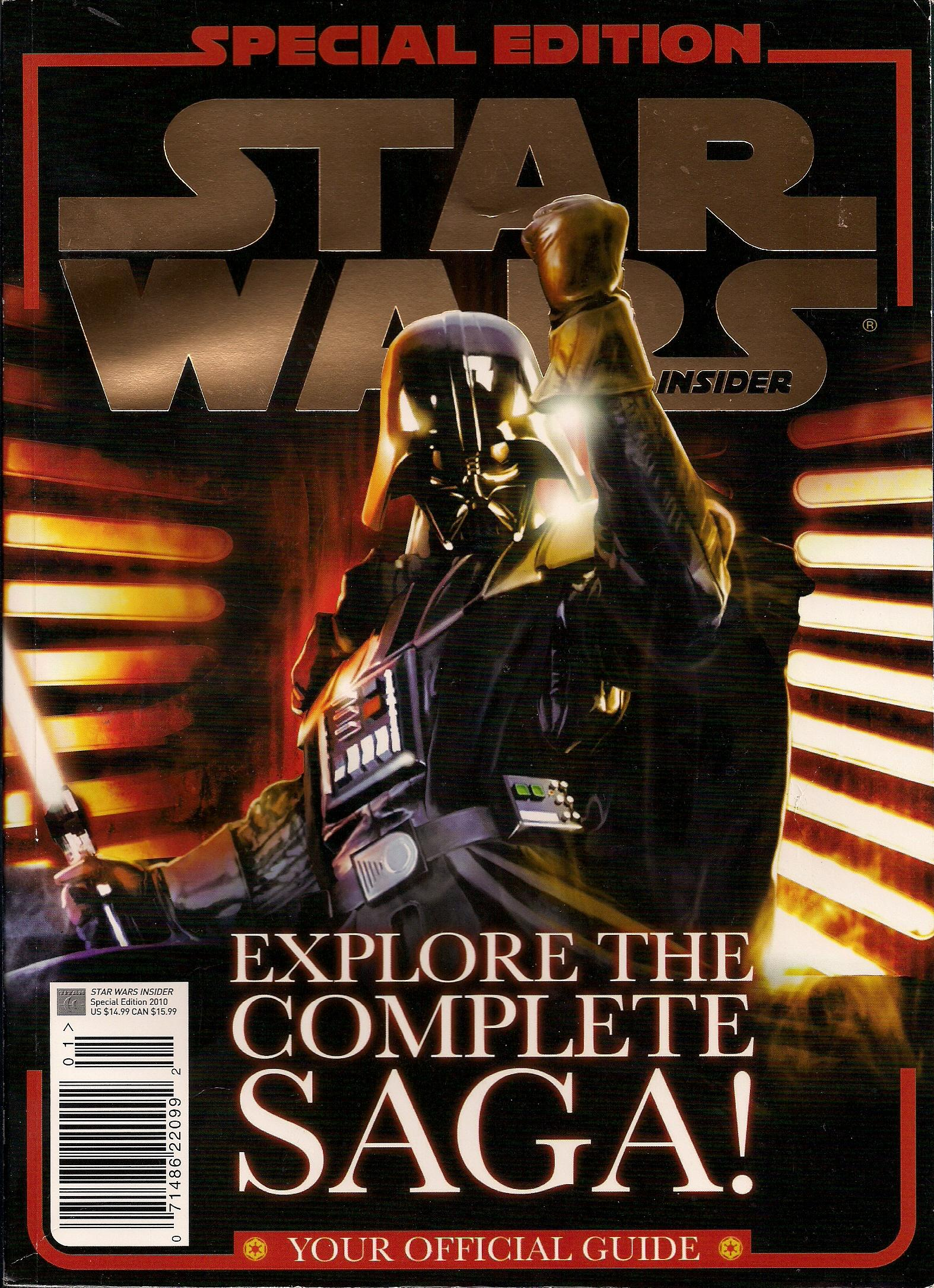 Star Wars Insider Special Edition 2010: Your Official Guide
