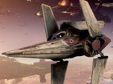 Alpha-3 Nimbus-class V-wing starfighter/Legends