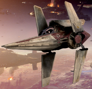 Alpha-3 Nimbus-class V-wing starfighter/Legends