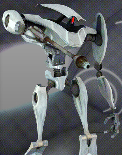 Aqua Battle Droid