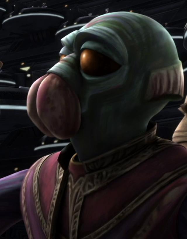 Unidentified Aqualish senator