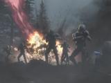 Battle on an unidentified world