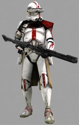 Clone soldato comandante