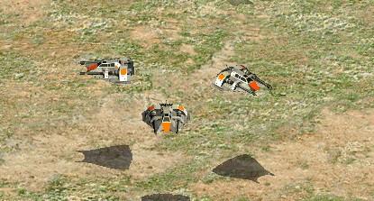 Armored Airspeeder
