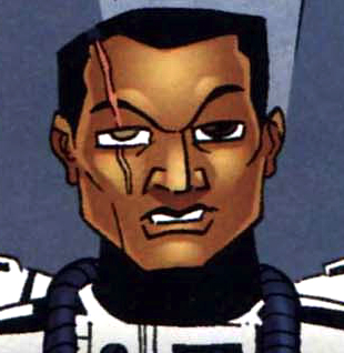 Unidentified clone trooper captain (Hunter Squadron)