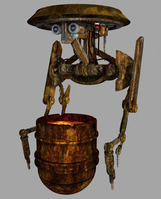 DLC-13 Panning Droid