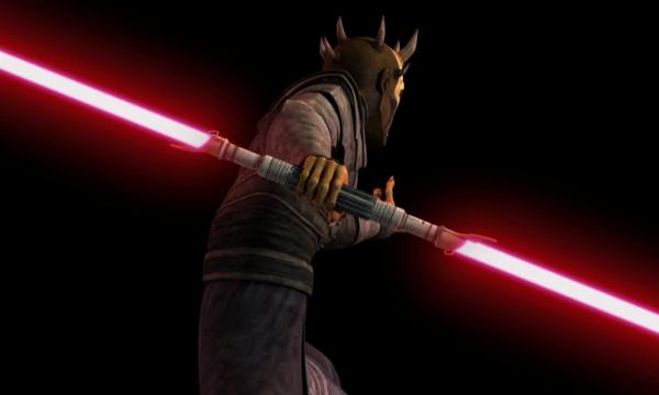 Savage Opress's lightsaber