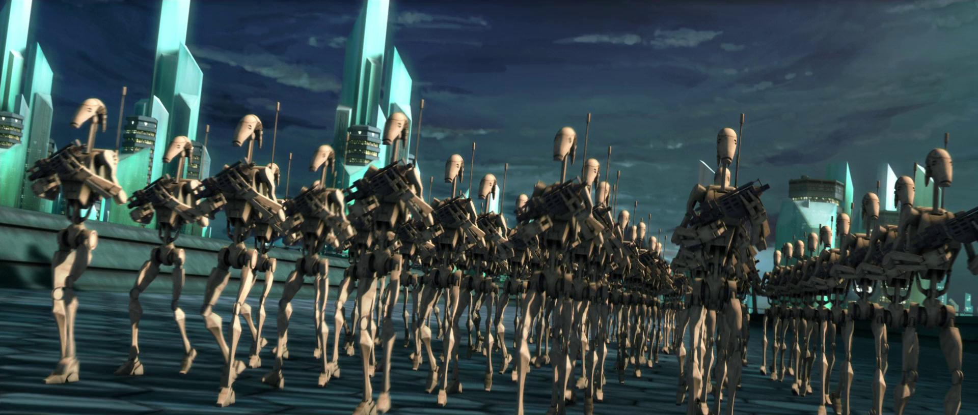 Battle droid battalion