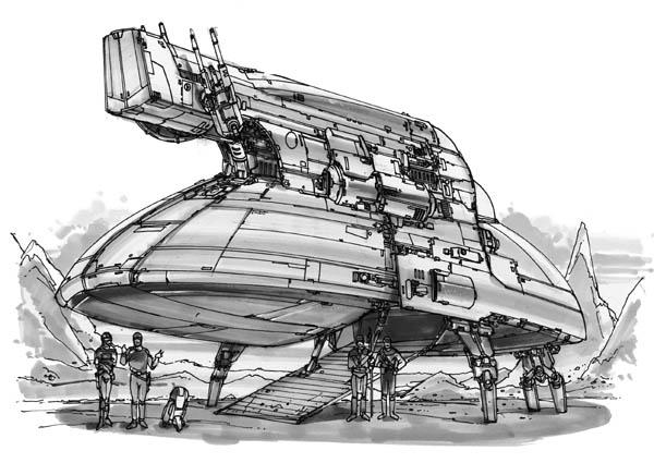 S40K Phoenix Hawk-class Light Pinnace