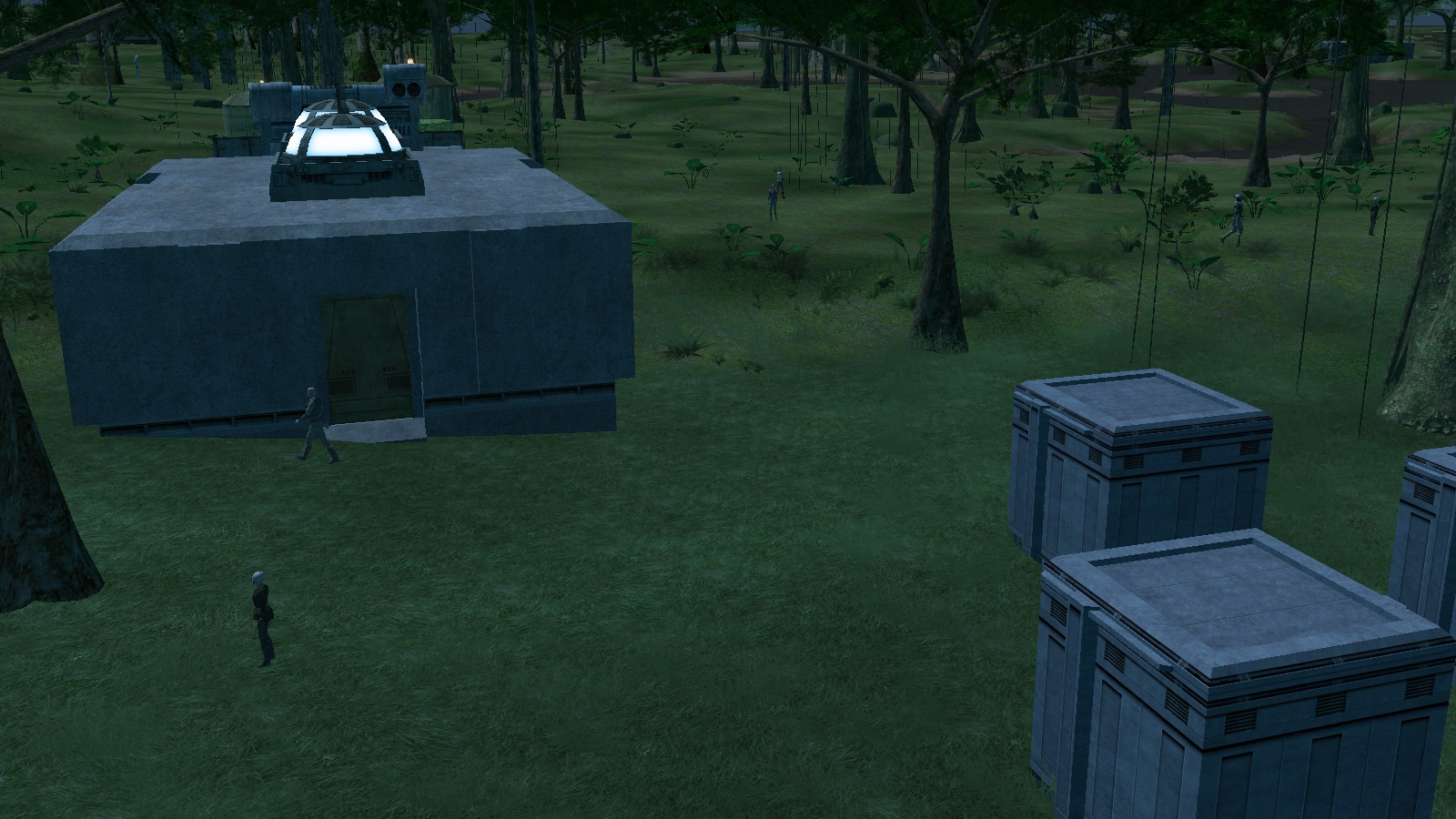Skaak Tipper Bunker
