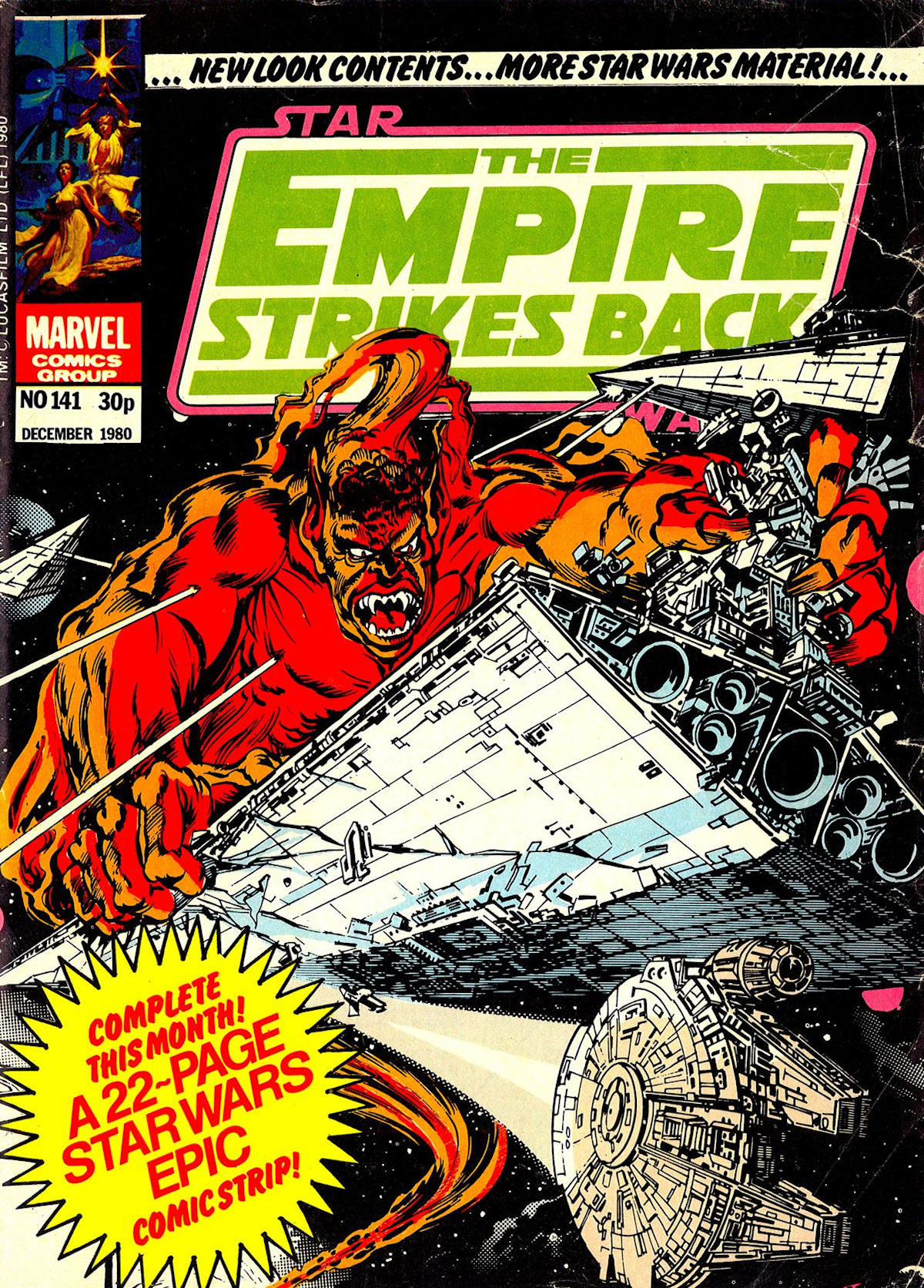 The Empire Strikes Back Monthly 141