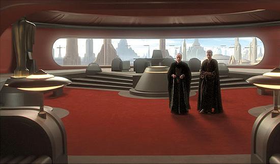皇帝の執務室