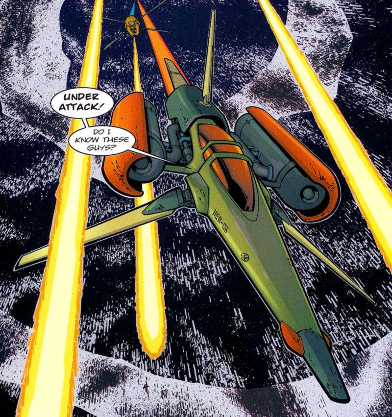 Yoshi Raph-Elan's starfighter