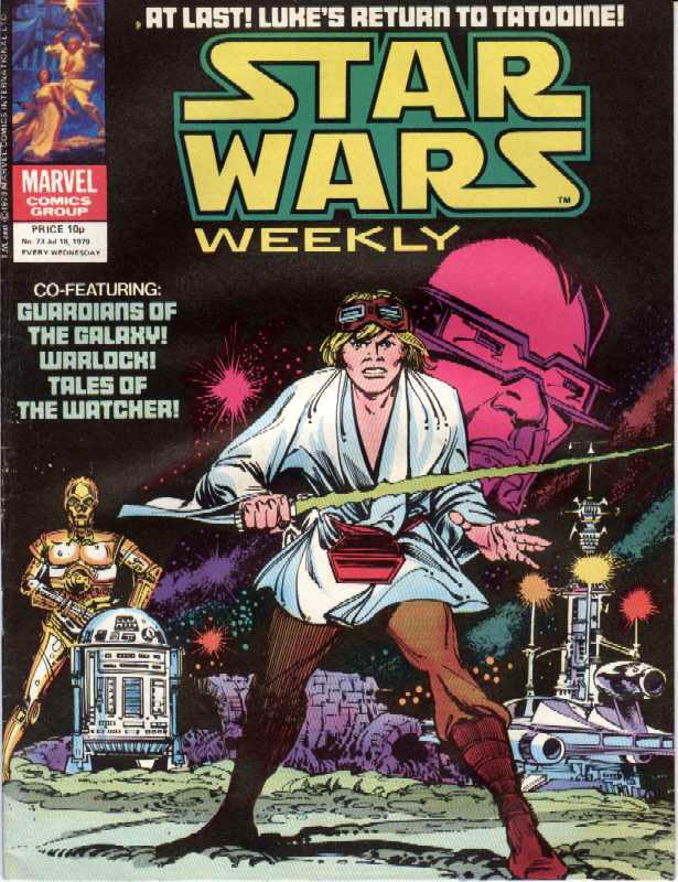Star Wars Weekly 73