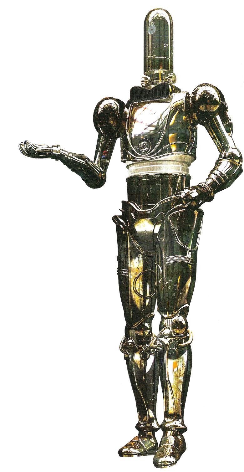 3D-4X administrative droid