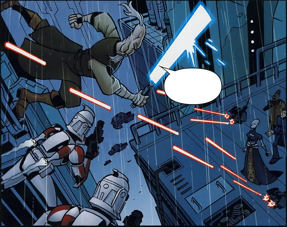 Skirmish on Coruscant (Clone Wars)