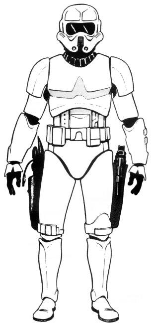 Radiation zone assault trooper armor