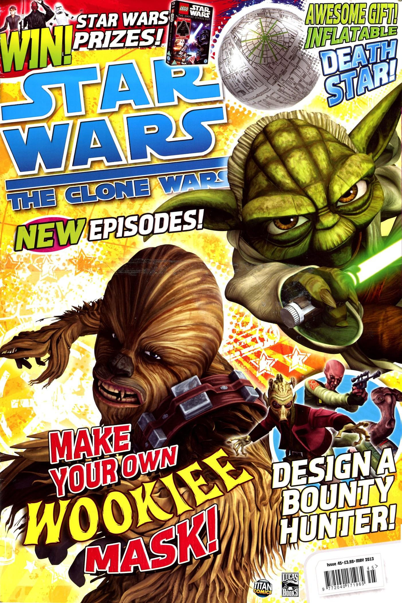 Star Wars: The Clone Wars Comic UK 6.45