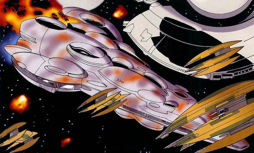 Mon Calamari capital ship (Clone Wars)