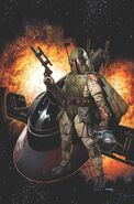 War of the Bounty Hunters 1 unlettered cover