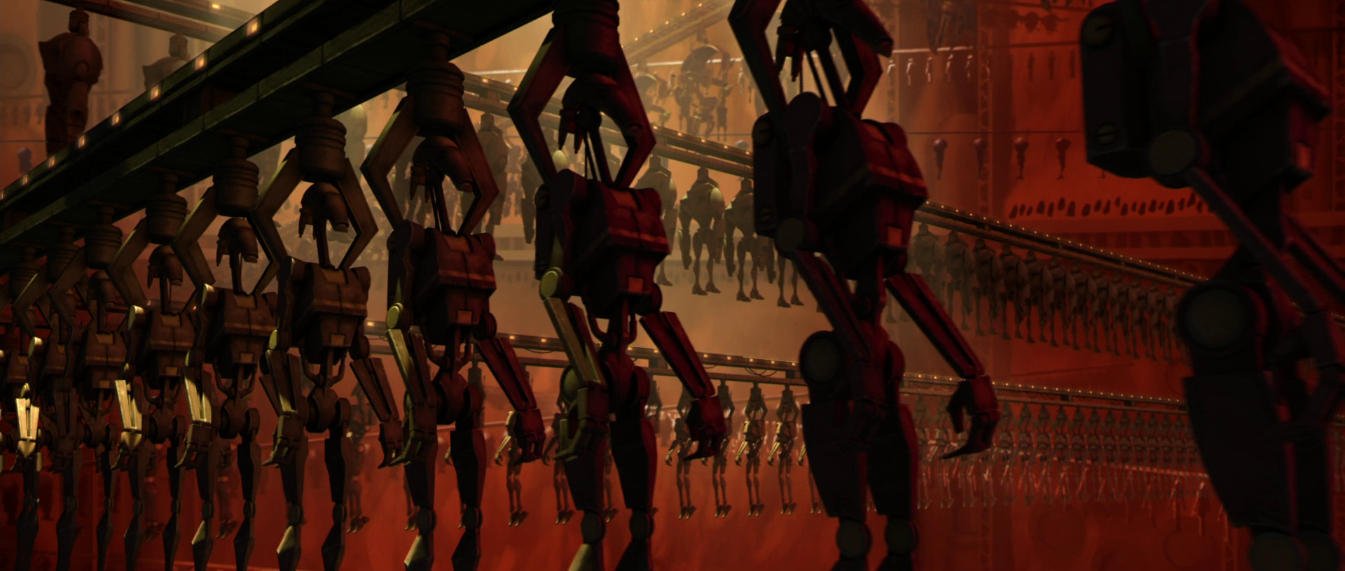 Geonosis primary droid foundry