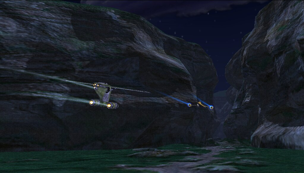 Mission in the Naboo canyon