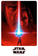 Star Wars Episode 8 The Last Jedi Poster 2