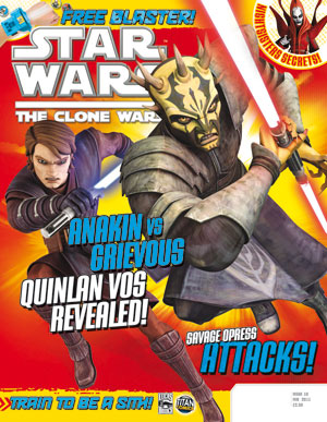 Star Wars: The Clone Wars Comic UK 6.16
