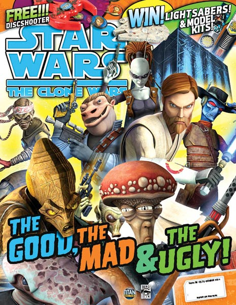 Star Wars: The Clone Wars Comic UK 6.38