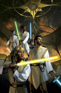 The High Republic The Fallen Star unlettered cover