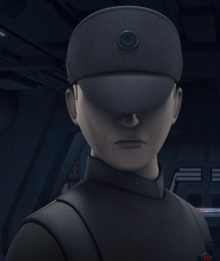 Unidentified Imperial commander (Imperial Interdictor)